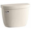 KOHLER Cimarron Almond 1.28-GPF (4.85-LPF) 10 Rough-In Single-Flush High-Efficiency Toilet Tank