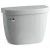 KOHLER Cimarron Ice Gray 1.28-GPF (4.85-LPF) 10 Rough-In Single-Flush High-Efficiency Toilet Tank