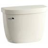 KOHLER Cimarron Biscuit 1.28-GPF (4.85-LPF) 10 Rough-In Single-Flush High-Efficiency Toilet Tank
