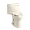 KOHLER Cimarron Almond 1.28-GPF (4.85-LPF) 12 Rough-In WaterSense Elongated 1-Piece Comfort Height Rear Outlet Toilet