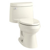 KOHLER Cimarron 1.28-GPF (4.85-LPF) 12-in Rough-In WaterSense Elongated Standard Height Toilet