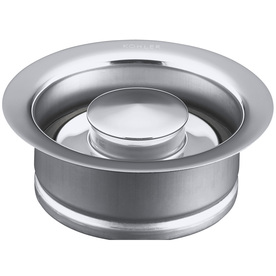 KOHLER 4-1/2-in dia Chrome Stopper Garbage Disposal Flange