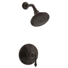KOHLER Kelston Oil-Rubbed Bronze 1-Handle WaterSense Shower Faucet Trim Kit with Single Function Showerhead