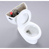 KOHLER Wellworth White 1.28-GPF (4.85-LPF) 12-in Rough-in WaterSense Round 2-Piece Standard Height Toilet