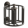 KOHLER Artifacts Oil-Rubbed Bronze Surface Mount Toilet Paper Holder