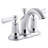 KOHLER Elliston 2-Handle 4-in Centerset WaterSense Bathroom Faucet (Drain Included)
