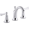 KOHLER Elliston 2-Handle Widespread WaterSense Bathroom Faucet (Drain Included)