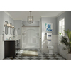 KOHLER Elliston Vibrant Brushed Nickel 1-Handle Bathtub and Shower with Single Function Showerhead