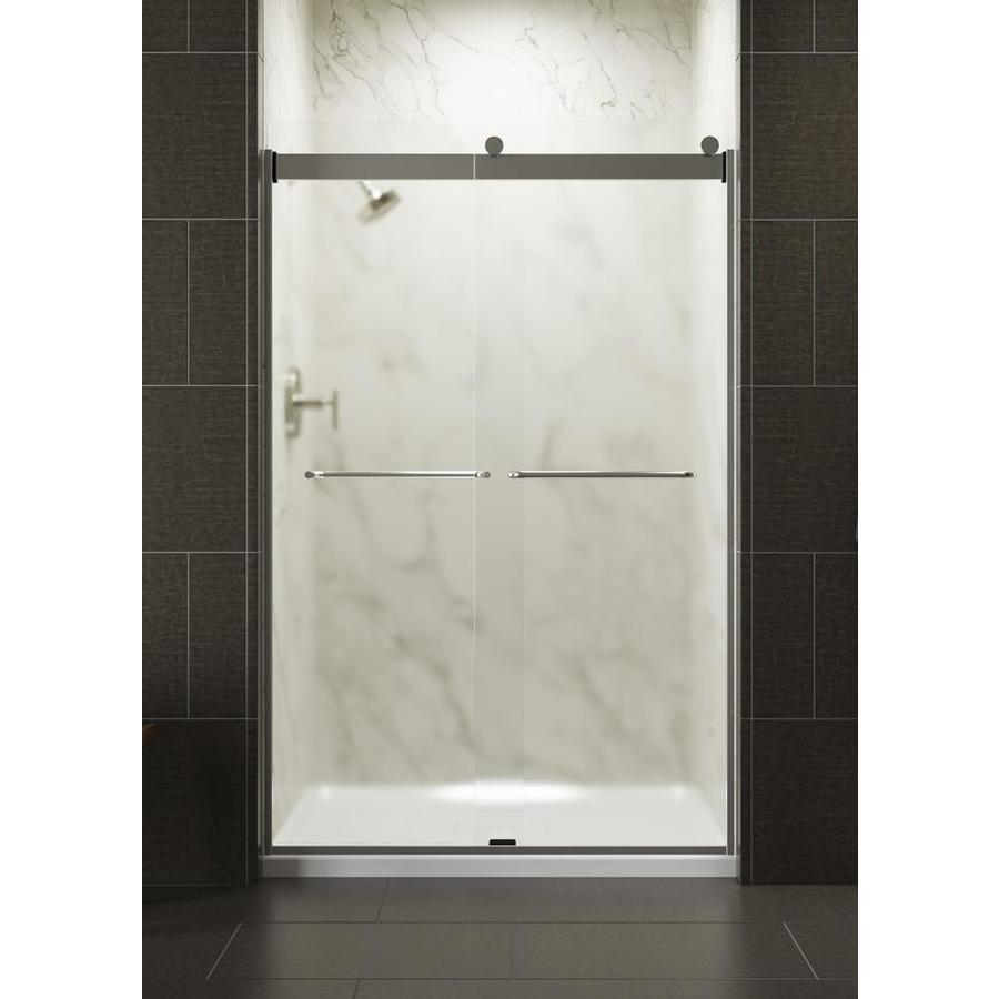 frameless sliding shower door installation instructions