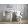 KOHLER Elliston White 1.28-GPF (4.85-LPF) 12 Rough-In WaterSense Elongated 2-Piece Comfort Height Toilet