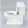 KOHLER Memoirs White 1.28-GPF (4.85-LPF) 12-in Rough-in WaterSense Elongated 2-Piece Comfort Height Toilet