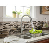 KOHLER Malleco Vibrant Stainless 1-Handle Pull-Down Kitchen Faucet