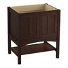 KOHLER Marabou Woolen Oak Traditional Bathroom Vanity (Common: 30-in x 22-in; Actual: 30-in x 21.875-in)