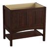 KOHLER Marabou Woolen Oak Traditional Bathroom Vanity (Common: 36-in x 22-in; Actual: 36-in x 21.875-in)