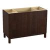 KOHLER Jacquard Woolen Oak Traditional Bathroom Vanity (Common: 48-in x 22-in; Actual: 48-in x 21.875-in)