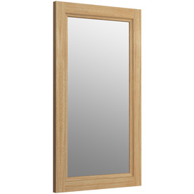 Cool Imperial Cuda Bathroom Mirror 710 X 570mm Natural Oak
