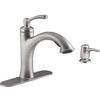 KOHLER Elliston 1-Handle Pull-Out Kitchen Faucet