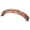 Brainerd 96mm Center-to-Center Copper Kettle Bar Cabinet Pull