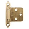 Brainerd 2-Pack 2-3/4-in x 1-3/4-in Champagne Bronze Self-Closing Cabinet Hinges