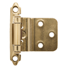 Brainerd 2-Pack 2-3/4-in x 2-1/8-in Champagne Bronze Self-Closing Cabinet Hinges