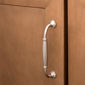 "Cabinet Hardware Key Steel Bar Pulls pc128 Satin Nickel Handles 128mm 5/"" CC"