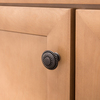 betsyfieldsdesign Venetian Bronze Round Cabinet Knob