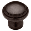 Brainerd 1-1/4-in Statuary Bronze Round Cabinet Knob
