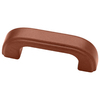 Liberty Hardware 3-in Center-to-Center Hazelnut Bar Cabinet Pull