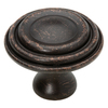 Brainerd 1-1/2-in Venetian Bronze Round Cabinet Knob