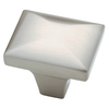 Brainerd 1-1/4-in Satin Nickel Square Cabinet Knob