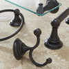 Delta Providence Venetian Bronze Zinc Bathroom Shelf