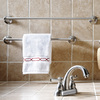 Delta Windemere Brushed Nickel Single Towel Bar (Common: 24-in; Actual: 24-in)