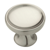 Brainerd 1-3/8-in Satin Nickel Round Cabinet Knob