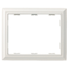 Brainerd 3-Gang White Standard Toggle Metal Wall Plate