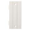 Brainerd 1-Gang White Blank Plastic Wall Plate