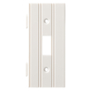 Brainerd 1-Gang White Standard Toggle Plastic Wall Plate
