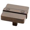 Brainerd Rusted Iron Square Cabinet Knob