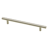 Brainerd 128mm Center-to-Center Stainless Bar Cabinet Pull
