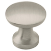 Brainerd 7/8-in Satin Nickel Round Cabinet Knob