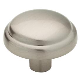 Brainerd 1-inch Satin Nickel Round Cabinet Knob