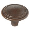 Brainerd Rust Round Cabinet Knob