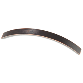Brainerd 128mm Center-to-Center Bronze with Copper Highlights Bar Cabinet Pull