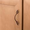 Brainerd 3-in Center-to-Center Sponged Copper Rectangular Cabinet Pull