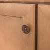 Brainerd Sponged Copper Round Cabinet Knob