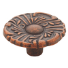 Brainerd 1-in Sponged Copper Round Cabinet Knob