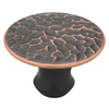 Brainerd 1-in Bronze w/Copper Highlights Round Cabinet Knob