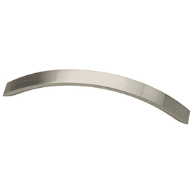 Brainerd 128mm Center-to-Center Satin Nickel Bar Cabinet Pull