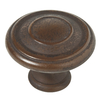Brainerd 1-in Rust Round Cabinet Knob