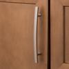 Brainerd 128mm Center-to-Center Satin Nickel Arched Cabinet Pull