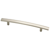 Brainerd 128mm Center-to-Center Satin Nickel Arched Cabinet Pull
